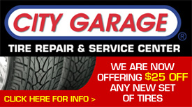 City Garage Cheap Tire Coupon